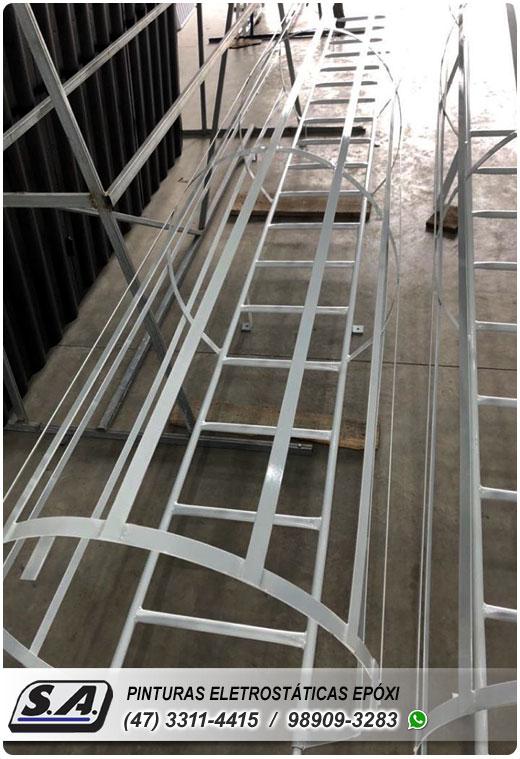 pintura eletrostática balneário camboriú bc itapema portão portões de garagem ferro portas galvanizado grades metal automotiva aluminio preço barata
