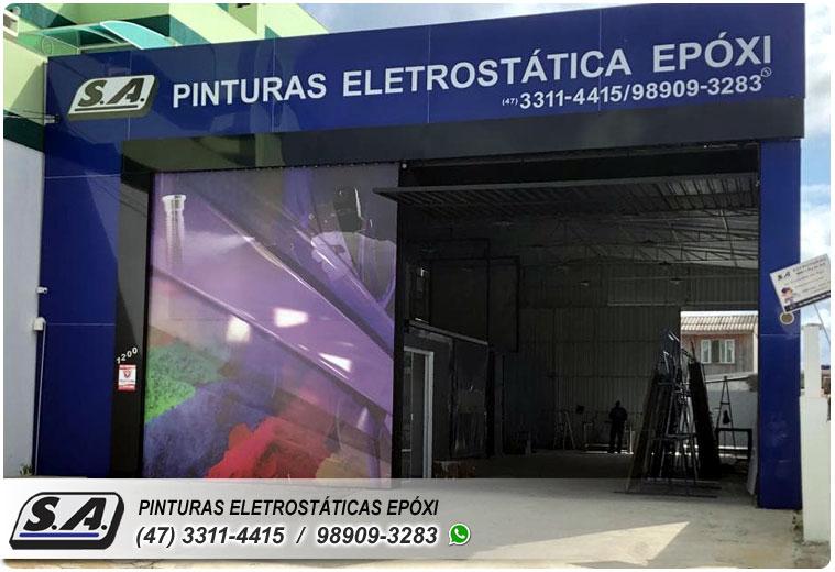 pintura eletrostática barra velha piçarras navegantes portão portões de garagem ferro portas galvanizado grades metal automotiva aluminio preço barata