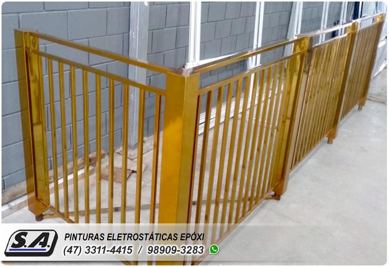 pintura eletrostática barra velha piçarras navegantes sc portão portões de garagem ferro portas galvanizado grades metal automotiva aluminio preço barata