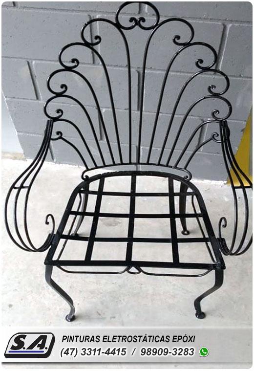 pintura epóxi eletrostática pó itajaí cadeiras mesas bicicletas ferro portas galvanizado grades metal automotiva aluminio preço barata navegantes barra velha piçarras gravatá sc