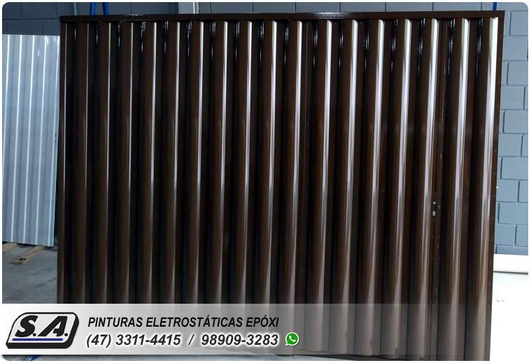 pintura epóxi itajaí portão portões de garagem ferro portas galvanizado grades metal automotiva aluminio preço barata navegantes barra velha piçarras gravatá sc